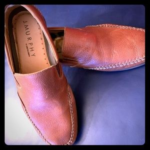 One very nice pair of Johnston Murphy loafers Look